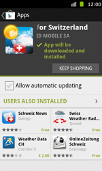Samsung Galaxy S Advance - Applications - Installing applications - Step 16