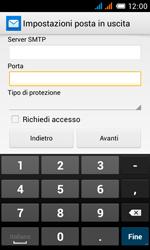 Alcatel One Touch Pop C3 - E-mail - configurazione manuale - Fase 22