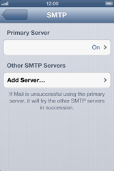 Apple iPhone 4 - E-mail - Manual configuration - Step 15