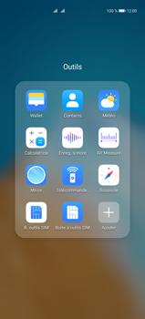Huawei P40 Pro - Contact, Appels, SMS/MMS - Ajouter un contact - Étape 4