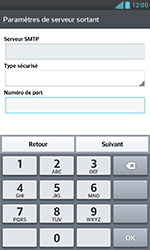 LG E975 Optimus G - E-mail - Configurer l