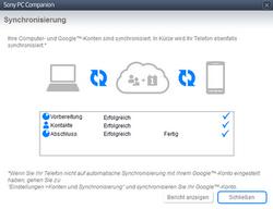 Sony Xperia Sola - Software - Sicherungskopie Ihrer Daten erstellen - Schritt 11