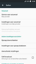 HTC U Play - voicemail - handmatig instellen - stap 7