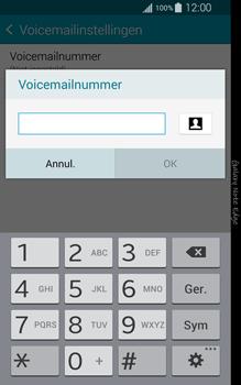 Samsung Galaxy Note Edge - voicemail - handmatig instellen - stap 9