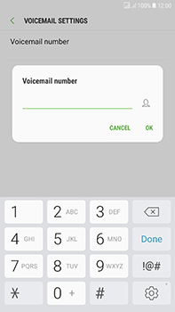 Samsung Galaxy J7 (2017) - Voicemail - Manual configuration - Step 10