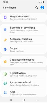 Samsung Galaxy A40 - Toestel - stel Zoek mijn mobiel in - Stap 4