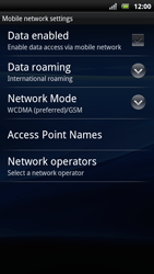 Sony Xperia Arc S - Internet - Manual configuration - Step 6