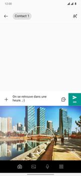 OnePlus 7T Pro - Contact, Appels, SMS/MMS - Envoyer un MMS - Étape 9
