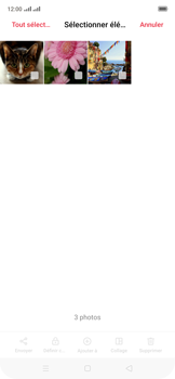 Oppo Reno 2Z - Photos, vidéos, musique - Envoyer une photo via Bluetooth - Étape 9