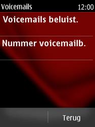 Nokia Asha 300 - Voicemail - Handmatig instellen - Stap 5