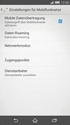 Sony Xperia Z2 - Ausland - Im Ausland surfen – Datenroaming - Schritt 8