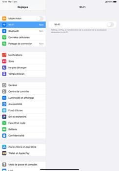Apple iPad Pro 11 (2018) - iPadOS 13 - WiFi - Configuration du WiFi - Étape 4