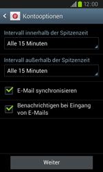 Samsung I9105P Galaxy S2 Plus - E-Mail - Konto einrichten - Schritt 16