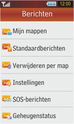 Samsung S5230 Star - SMS - handmatig instellen - Stap 4