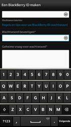 BlackBerry Z30 - apps - account instellen - stap 7