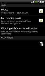 HTC S510e Desire S - WLAN - Manuelle Konfiguration - Schritt 7