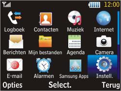 Samsung S3570 Chat 357 - Internet - aan- of uitzetten - Stap 3