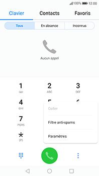 Huawei P10 Plus - Messagerie vocale - Configuration manuelle - Étape 4