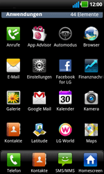 LG Optimus Black - Fehlerbehebung - Handy zurücksetzen - 5 / 10