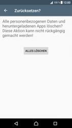 Sony Xperia XA1 - Fehlerbehebung - Handy zurücksetzen - 2 / 2