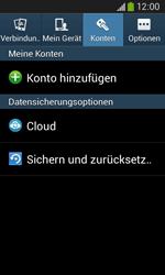 Samsung S7275 Galaxy Ace 3 - Fehlerbehebung - Handy zurücksetzen - Schritt 7