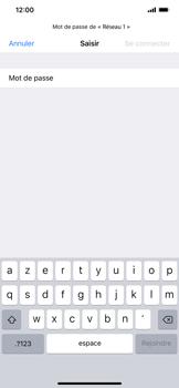 Apple iPhone XS Max - WiFi - Configuration du WiFi - Étape 6