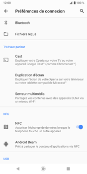 Sony Xperia XZ3 - Bluetooth - connexion Bluetooth - Étape 8