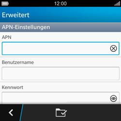 BlackBerry Q5 - MMS - Manuelle Konfiguration - Schritt 9