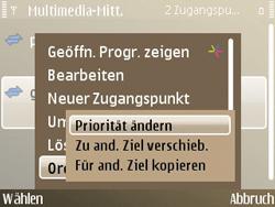 Nokia E72 - MMS - Manuelle Konfiguration - Schritt 14