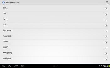 Samsung N8000 Galaxy Note 10-1 - MMS - Manual configuration - Step 8