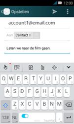 Huawei Y3 - E-mail - e-mail versturen - Stap 9