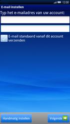 Sony Xperia X10 - E-mail - Handmatig instellen - Stap 5