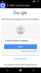 Microsoft Lumia 950 - E-Mail - Konto einrichten (gmail) - 1 / 1