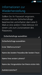 Alcatel Idol S - Apps - Konto anlegen und einrichten - 13 / 25