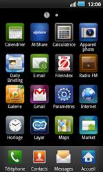 Samsung I5800 Galaxy Apollo - MMS - Configuration manuelle - Étape 3