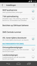 Huawei Ascend P7 - SMS - handmatig instellen - Stap 6