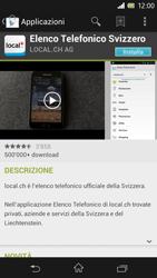 Sony Xperia Z - Applicazioni - Installazione delle applicazioni - Fase 7
