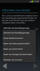 Samsung G386F Galaxy Core LTE - Applicaties - Account aanmaken - Stap 13