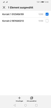 Huawei Mate 20 - Anrufe - Anrufe blockieren - Schritt 10