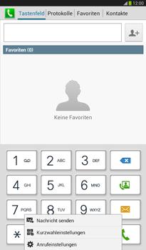 Samsung T211 Galaxy Tab 3 7-0 - Anrufe - Rufumleitungen setzen und löschen - Schritt 5