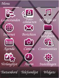 Samsung S7070 Diva - SMS - Handmatig instellen - Stap 3