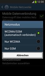 Samsung Galaxy Trend Plus - Netzwerk - Netzwerkeinstellungen ändern - 7 / 8