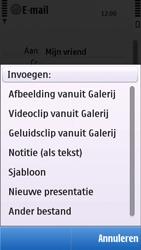 Nokia C5-03 - e-mail - hoe te versturen - stap 10