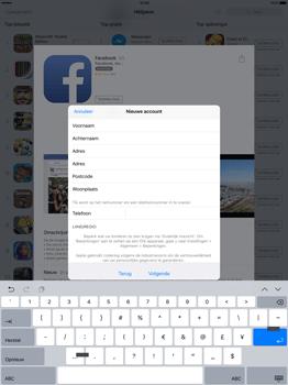 Apple iPad Pro 12.9 inch met iOS9 (Model A1652) - Applicaties - Account aanmaken - Stap 22