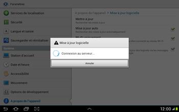 Samsung Galaxy Tab 2 10.1 - Logiciels - Installation de mises à jour - Étape 10