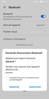 Huawei Y5P - Internet et connexion - Connexion avec un équipement multimédia via Bluetooth - Étape 7