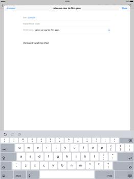 Apple iPad Pro - E-mail - E-mail versturen - Stap 7