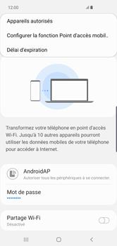 Samsung Galaxy S10 Plus - WiFi - Comment activer un point d'accès WiFi - Étape 9