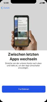Apple iPhone X - iOS 11 - Persönliche Einstellungen von einem alten iPhone übertragen - 36 / 40
