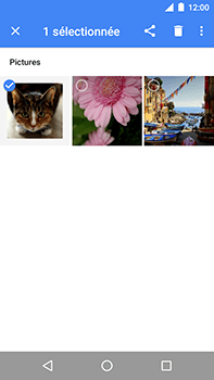 Motorola Moto E4 Plus - Photos, vidéos, musique - Envoyer une photo via Bluetooth - Étape 5